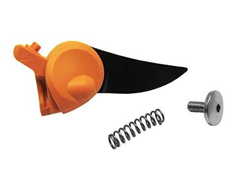 Fiskars Lame, vis et ressort de rechange pour sécateur à lames franches PowerGear X PX94, Orange/Noir, 1026277