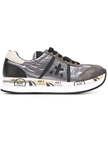 PREMIATA Luxury Fashion Damen CONNY1493 Grau Polyamid Sneakers | Jahreszeit Permanent