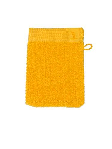 möve New Essential gant de lavage 15 x 20 cm en 100% coton, sun