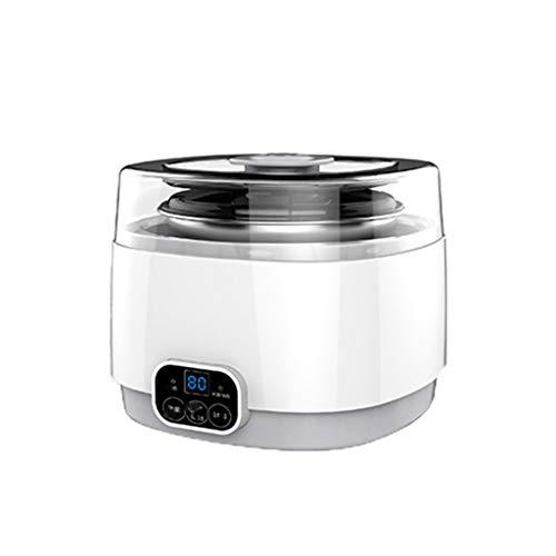 JYDQM Máquina de Yogurt, hogar Pequeño Vino de arroz casero Multifuncional Natto Mini máquina automática de fermentación de Tazas
