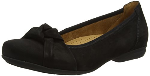 Gabor Shoes Comfort Sport', Ballerines Femme, Noir (Schwarz), 38 EU