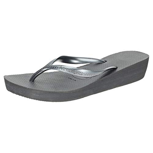 Havaianas Damen High Light Zehentrenner, Schwarz (Black), 38 EU