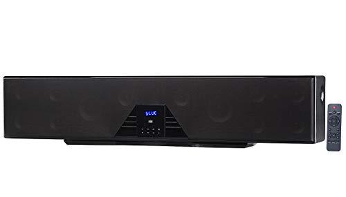 auvisio Heimkinosystem: 6-Kanal-3D-Soundbar, 5.1-Surround-Sound, Bluetooth 4.0, HDMI, 250 Watt (Lautsprecher TV)