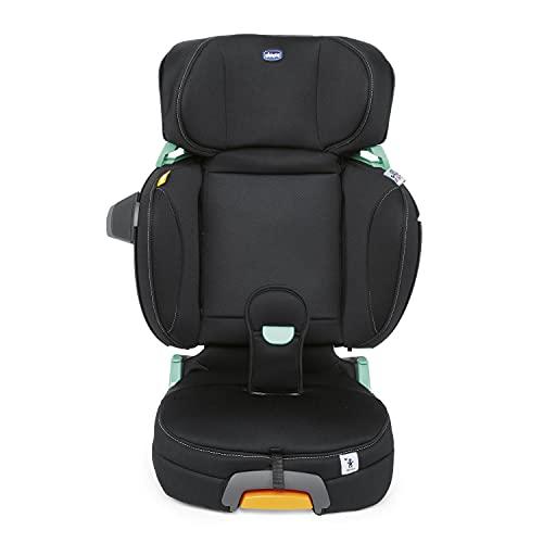 Chicco Fold&Go I-Size Seggiolino Auto 15-36 kg con Connettori Rigidi ISOFIX, Gruppo 2/3 per Bambini 3-12 Anni, Reclinabile e Pieghevole, con...