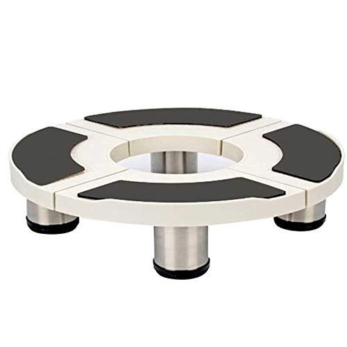 HIZLJJ Cilíndrica Universal Mobile Base Dormitorio Frigorífico Soporte con Base Ajustable 4 pies Fuertes de múltiples Funciones