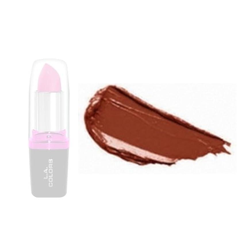 パシフィック楽観的ジェスチャー(3 Pack) LA Colors Hydrating Lipstick - Coffee (並行輸入品)