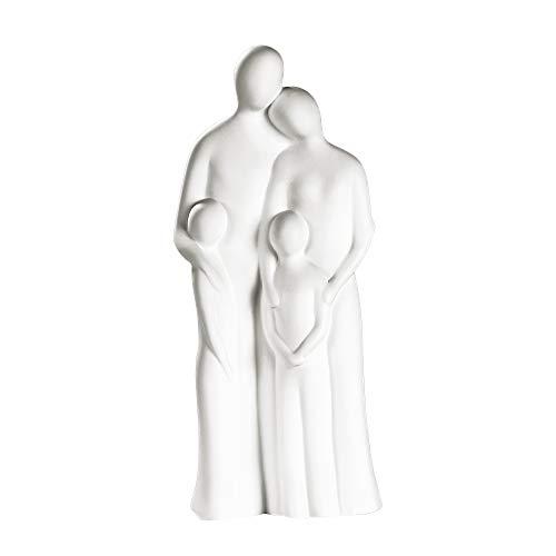 Francis Skulptur 'Familienharmonie' Dekofigur Familienfigur Dekoskulptur Familienskulptur Gilde