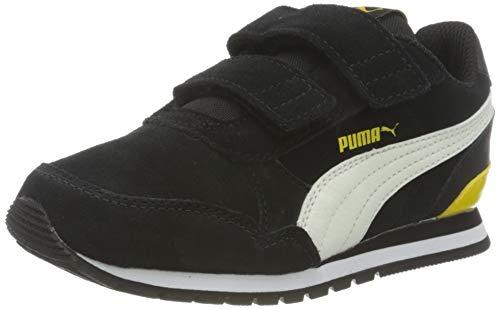 PUMA ST Runner V2 SD V PS, Sneaker Unisex Bambini, Nero Black/Whisper White/Dandelion White, 30 EU