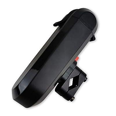 Brillo Safe Brillenetui lenkerbefestigt, Lenkertasche für Sonnen- Lese- und Gleitsichtbrillen, sichere Halterung, abnehmbares Zubehör, Mobile Hardcase-Box für Fahrrad, E-Bike, Roller etc.
