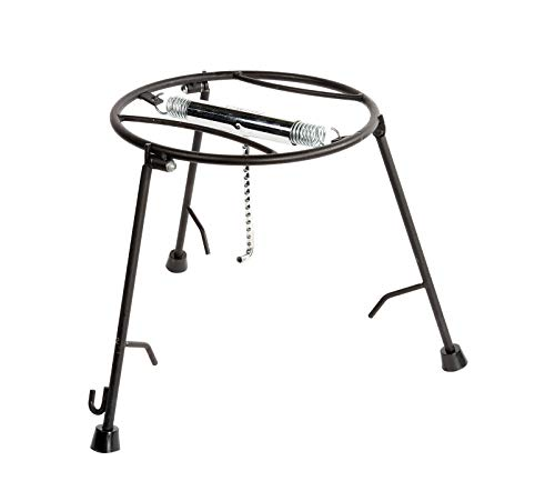 CampMaid Dutch Oven Lid Holder and Serving Stand – Strong and Durable Grill Stand – Functional and Unique Style – Lightweight and Portable Camping Table – Perfect For Camp Cooking