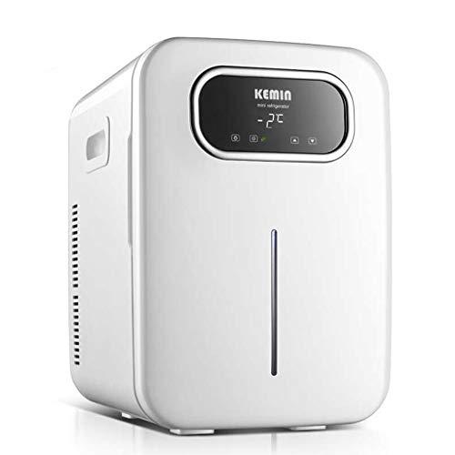 Mysida Car Refrigerators Mini-koelkast/wijnkoeler, draagbare elektrische compacte koeler/warmer, 20 liter, met digitale thermostaat + dual-core koeling, autokoelkast, 12 V/220 V