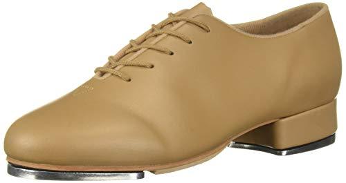Leo Women s Jazz TAP Dance Shoe  tan  7 Medium US