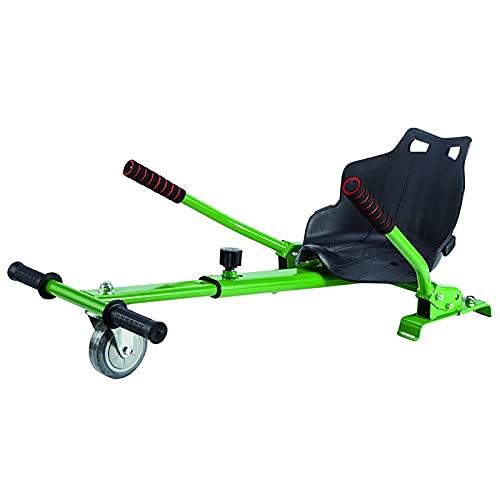 LHZMD Silla De Hoverboard Ajustable Asiento para Patinetes Eléctricos De 6.5 8 10 Pulgadas Hoverkart Silla De Equilibrio Automático para Adultos Y Niños,E