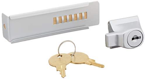 C.R. LAURENCE TDK7AKA CRL Aluminum Stick-On Showcase Lock - Keyed Alike