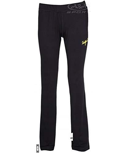 NORTHFINDER Pantaloni da Jogging da Donna per Jogging, Allenamento, Fitness e Cardio, Nero, M