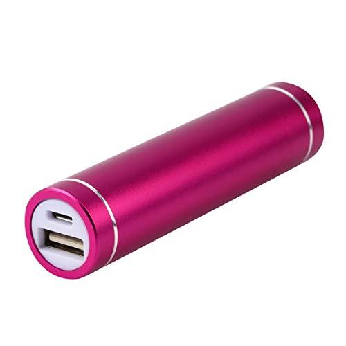 Ygerbkct Mini USB Mobile Power Bank Cargador Paquete Caja de batería para 1x 18650 Batería USB DC 5V Entrada teléfonos celulares universales