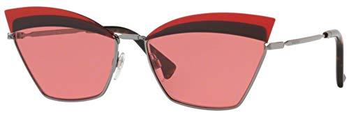 Valentino Gafas de sol VA2029 300584 Gafas de sol Mujer color Rojo tamaño de lente 60 mm