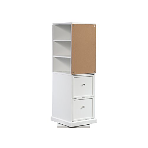 Sauder Craft Pro Series Craft Tower, White finish