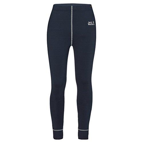 Jack Wolfskin Kinder Dry and Cosy Long Tights Sweatshirt, Night Blue, 2XL