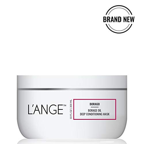 L'ange Hair Borago Borage Oil Deep Conditioning Masque | Powerful Nourishing Borage Oil for Hair | Ideal for Medium to Coarse Hair