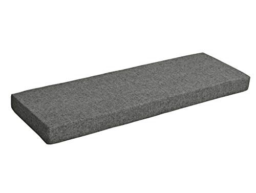 Sincere Customization Bay Window Seat Pad, Thickened Bench Couch Cushions, Patio Furniture Refurbishment Cushions With Removable Cover