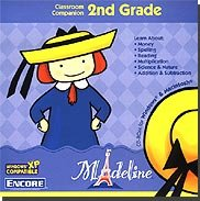 The Best Madeline 2nd Grade Classroom Companion-lnmad2ngrj - Visit the Book Store, Stationery Store, the Post Office, the Theatre, or play with Yvette. Paint pictures in the Art Studio, or have fun away from the computer with printable activities. There's even a magic show! Skills Covered: Multiplication Money, Spelling, Addition & Subtraction, Reading, and Science & Nature. Visit the Book Store, Stationery Store, the Post Office, the Theatre, or play with Yvette. Paint