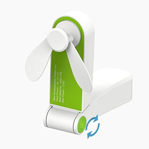 SDFW Ventilador Plegable, Ventilador eléctrico portátil, pequeño Enfriador de Aire, Carga Original, electrodomésticos, Ventilado de Escritorio