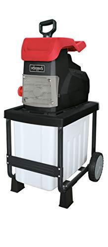 Scheppach Elektro Gartenhäcksler GS50 (Leise-Häcksler mit 2800 Watt, 230 – 240 Volt, max. Aststärke 45 mm, 50 L Auffangbehälter)