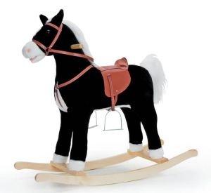 Sweety della Toys 90273cavallo a dondolo Blacky, molto elegante
