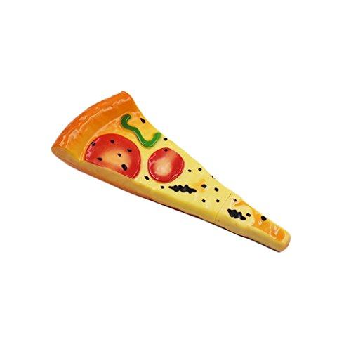 Kcopo Pizza Kugelschreiber mit Magnet Komisch Pizza Kugelschreiber Schreiben Stifte Kreativ Tinte Pizza Kugelschreiber