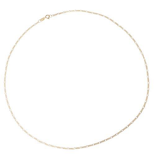 Harilla Elegante 925 Sterling Silber 1,5 Mm Zurrkette Für Schmuckanhänger - Gold