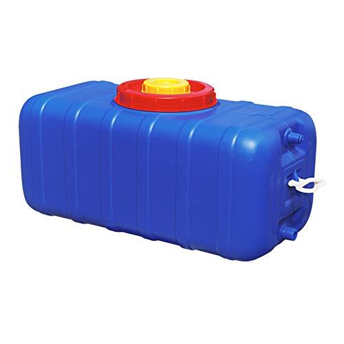 MORN Recipientes de Deposito Agua, Productos Domésticos Cubo de Plástico Grueso para Exteriores, Depósito de Agua de Gran Capacidad, Apto para Alimentos sin BPA, para Uso Doméstico y Comercial