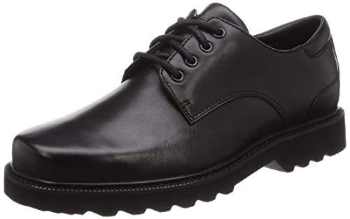 Rockport mens Main Route Northfield Waterproof oxfords shoes, Black, 10.5 US