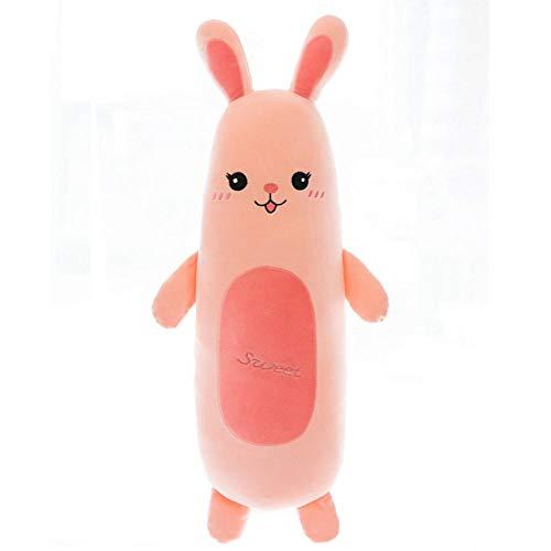 Pluche Schattige Baby Konijn Pluche Kussen Knuffel Pop Slaapkussen-Rabbit_110cm