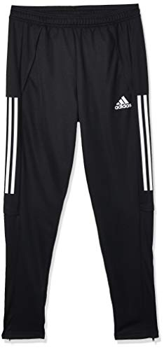 adidas Mens Con20 Tr PNT Track Pants, Black/White, S