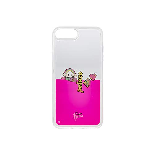 La Vecina Rubia Funda Smartphone - Transparente y Compatible con Apple IPhone 6 Plus / 7 Plus / 8 Plus