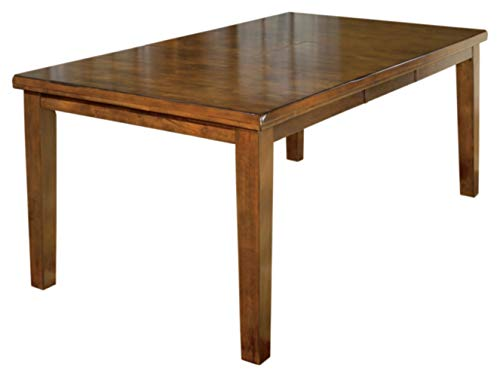 Signature Design By Ashley - Ralene Dining Room Table with Butterfly Extension Leaf - Vintage Casual - Medium Brown