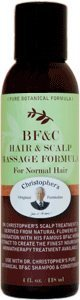 CHRISTOPHER'S ORIGINAL FORMULAS BF&C Hair & Scalp Massage Oil 4 OZ by Christophers Original Formulas