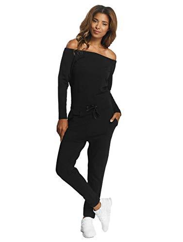 DEF Damen Jumpsuits Stretch schwarz XS