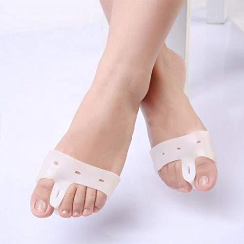 Makspiq 1 Paar Silikon Gel Fuß Concealer Daumen Separator Valgus Protector Daumen Zehenspanner Zehen Valgus Fuß