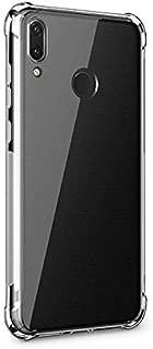 Huawei Y7 2019,Y7 Prime 2019 Anti-Drop Darbe Emici Silikon Kılıf ŞEFFAF