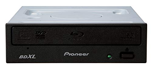Pioneer Blu-ray Recorder, SATA, 16x/16x/40x Desktop, schwarz, BDXL, M-DISC, Retail, BDR-212EBK