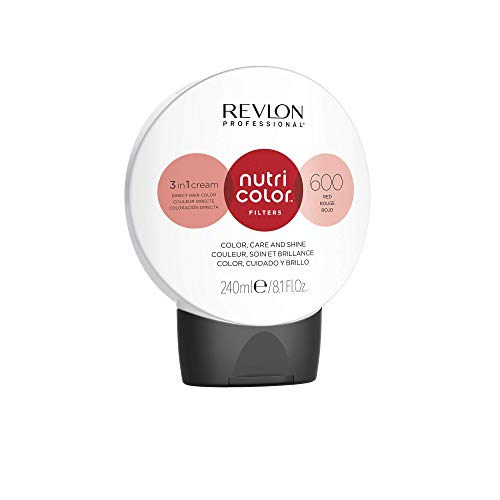 REVLON PROFESSIONAL Nutri Color Filters #600 Red 240 ml