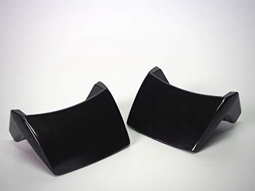 Sanfor Blíster 2 Unidades Asas para Olla a presión Adaptable Magefesa con Tornillo | Negro | 7 x 8 x 5 cm | Fácil de Montar