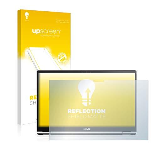 upscreen Entspiegelungs-Schutzfolie kompatibel mit Asus ZenBook Flip 15 UX562FD – Anti-Reflex Bildschirmschutz-Folie Matt