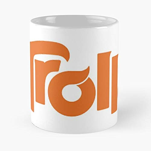 Desconocido Trolls DreamWorks Logo Kids Fun Children Movies Taza de café con Leche 11 oz