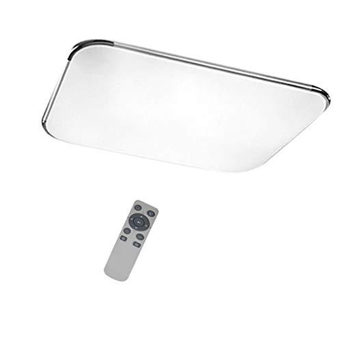 Lámpara LED para techo Szysd, plafón para techo de baño, de dormitorio o de salón, atenuable, iluminación de pasillo, con mando a distancia