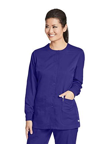 Grey's Anatomy 4450 Warm-Up Jacket Purple Rain M