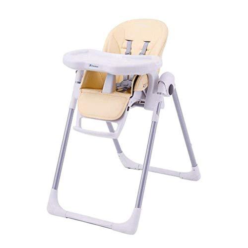 YEXIN Infantil Mesa de Comedor y Silla, Multifuncional Plegable del bebé Silla de Comedor, Mesa de Comedor y portátil Silla