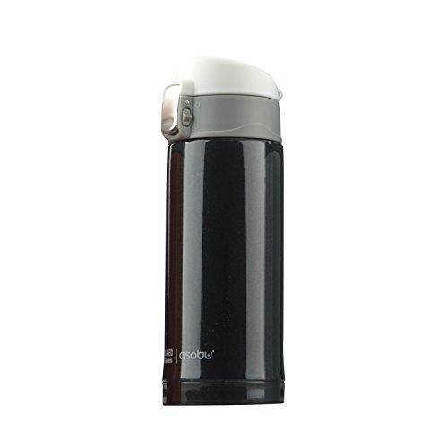Asobu Mini Diva 210 ml Bouteille pour femme 210 ml Noir 210 ml